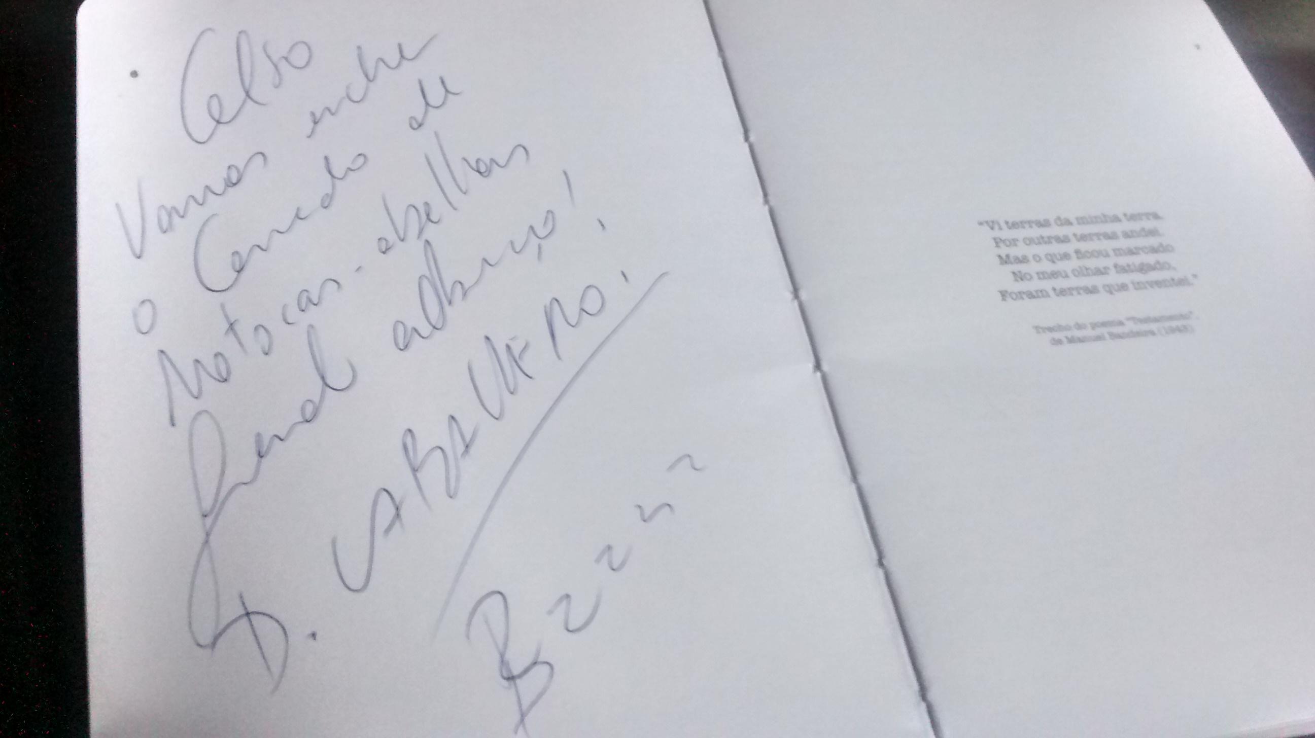 Autografada